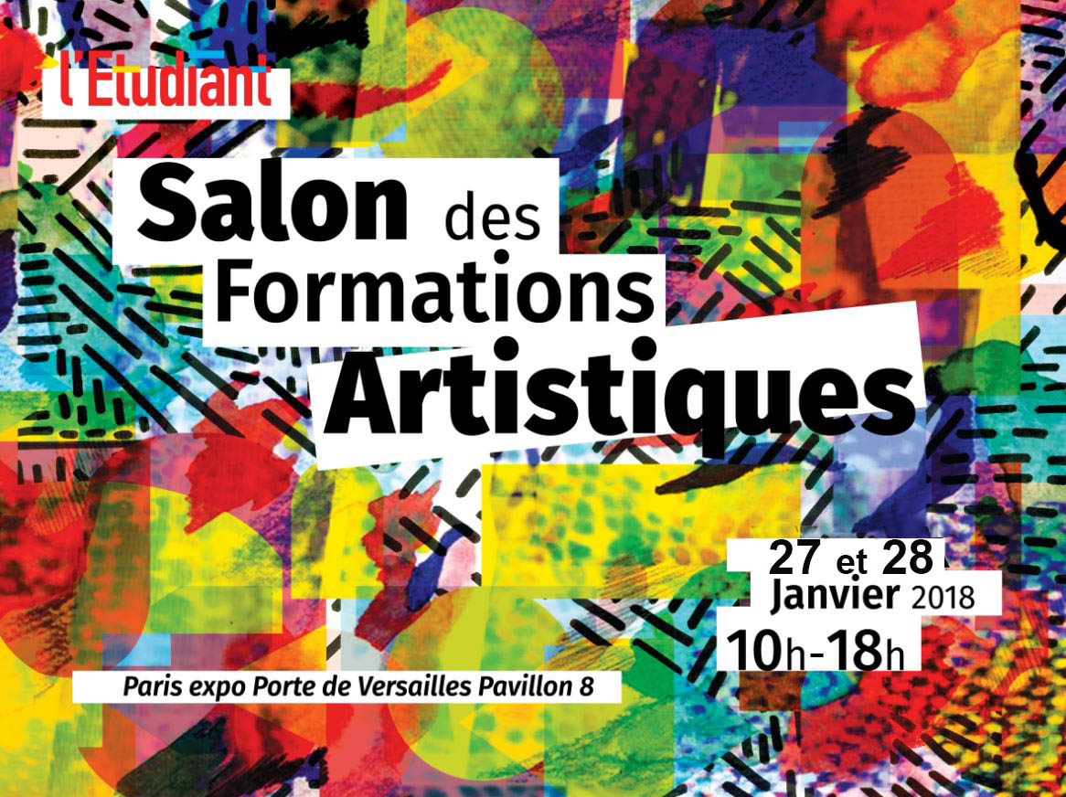 Sfa salon formations artistiques 2018 paris porte de for Salon formation artistique paris